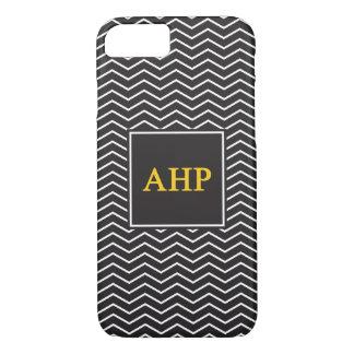 Alpha Eta Rho   Chevron Pattern iPhone 8/7 Case