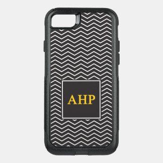 Alpha Eta Rho   Chevron Pattern OtterBox Commuter iPhone 8/7 Case