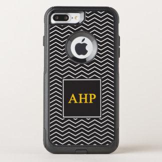 Alpha Eta Rho   Chevron Pattern OtterBox Commuter iPhone 8 Plus/7 Plus Case