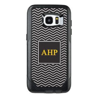 Alpha Eta Rho   Chevron Pattern OtterBox Samsung Galaxy S7 Edge Case