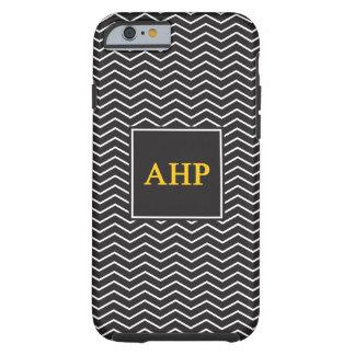 Alpha Eta Rho   Chevron Pattern Tough iPhone 6 Case
