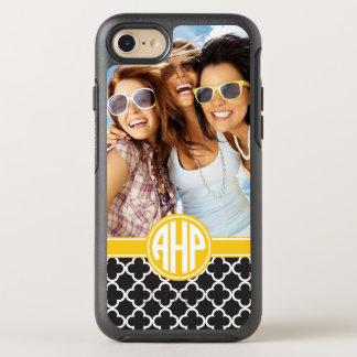 Alpha Eta Rho   Custom Monogram Pattern OtterBox Symmetry iPhone 8/7 Case
