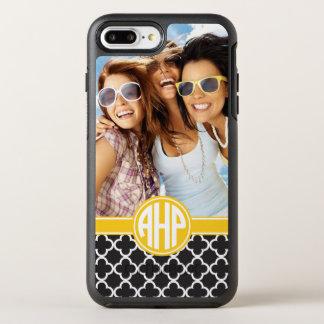 Alpha Eta Rho   Custom Monogram Pattern OtterBox Symmetry iPhone 8 Plus/7 Plus Case