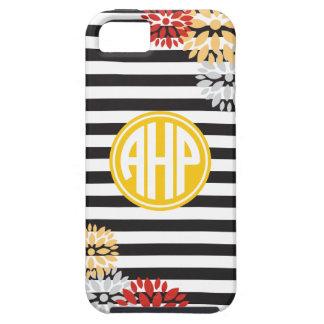 Alpha Eta Rho   Monogram Stripe Pattern iPhone 5 Cases