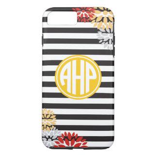 Alpha Eta Rho   Monogram Stripe Pattern iPhone 8 Plus/7 Plus Case