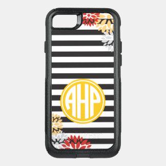 Alpha Eta Rho   Monogram Stripe Pattern OtterBox Commuter iPhone 8/7 Case