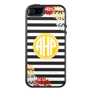 Alpha Eta Rho | Monogram Stripe Pattern OtterBox iPhone 5/5s/SE Case