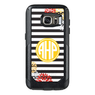Alpha Eta Rho   Monogram Stripe Pattern OtterBox Samsung Galaxy S7 Case