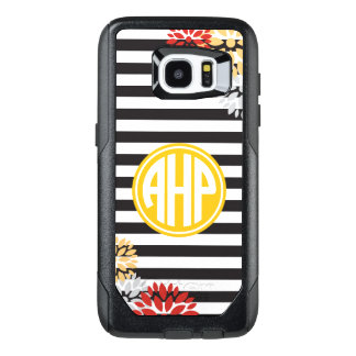Alpha Eta Rho   Monogram Stripe Pattern OtterBox Samsung Galaxy S7 Edge Case
