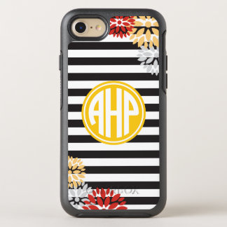 Alpha Eta Rho   Monogram Stripe Pattern OtterBox Symmetry iPhone 8/7 Case