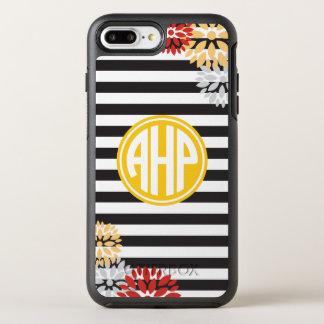 Alpha Eta Rho   Monogram Stripe Pattern OtterBox Symmetry iPhone 8 Plus/7 Plus Case