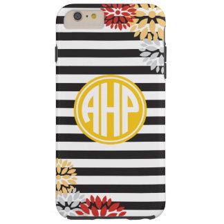 Alpha Eta Rho   Monogram Stripe Pattern Tough iPhone 6 Plus Case