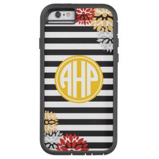 Alpha Eta Rho   Monogram Stripe Pattern Tough Xtreme iPhone 6 Case