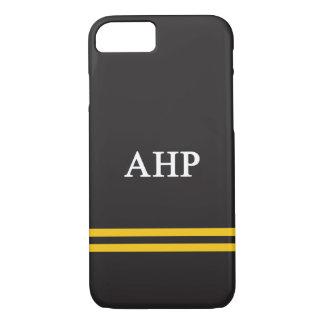 Alpha Eta Rho   Sport Stripe iPhone 8/7 Case