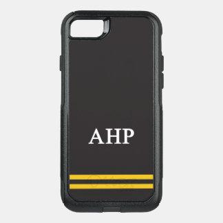 Alpha Eta Rho   Sport Stripe OtterBox Commuter iPhone 8/7 Case