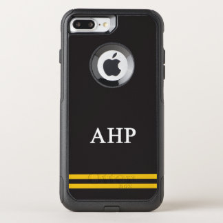 Alpha Eta Rho   Sport Stripe OtterBox Commuter iPhone 8 Plus/7 Plus Case