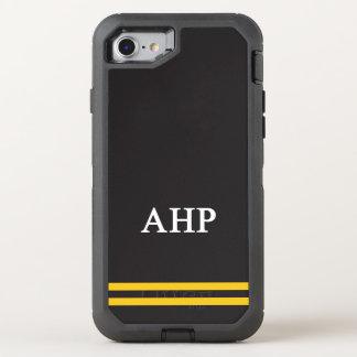 Alpha Eta Rho   Sport Stripe OtterBox Defender iPhone 8/7 Case