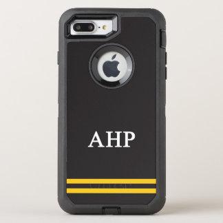 Alpha Eta Rho   Sport Stripe OtterBox Defender iPhone 8 Plus/7 Plus Case