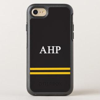Alpha Eta Rho   Sport Stripe OtterBox Symmetry iPhone 8/7 Case