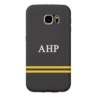 Alpha Eta Rho   Sport Stripe Samsung Galaxy S6 Cases