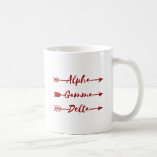 Alpha Gamma Delta Arrow Coffee Mug