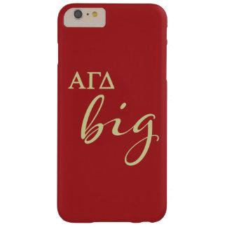Alpha Gamma Delta Big Script Barely There iPhone 6 Plus Case
