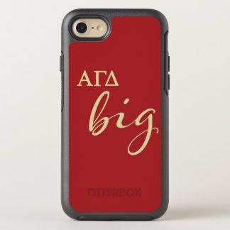 Alpha Gamma Delta Big Script OtterBox Symmetry iPhone 8/7 Case