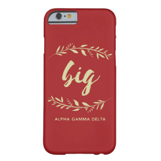 Alpha Gamma Delta Big Wreath Barely There iPhone 6 Case