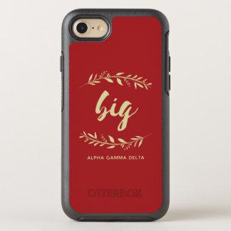 Alpha Gamma Delta Big Wreath OtterBox Symmetry iPhone 8/7 Case