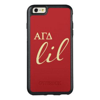 Alpha Gamma Delta Lil Script OtterBox iPhone 6/6s Plus Case