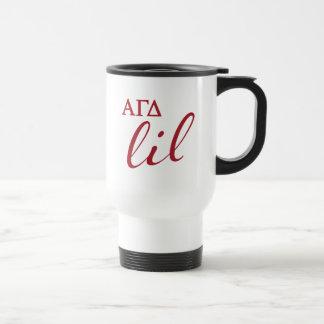 Alpha Gamma Delta Lil Script Travel Mug