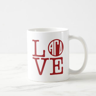 Alpha Gamma Delta Love Coffee Mug