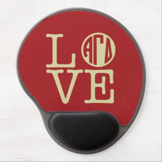 Alpha Gamma Delta Love Gel Mouse Pad