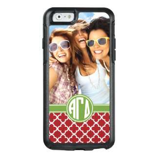 Alpha Gamma Delta | Monogram and Photo OtterBox iPhone 6/6s Case