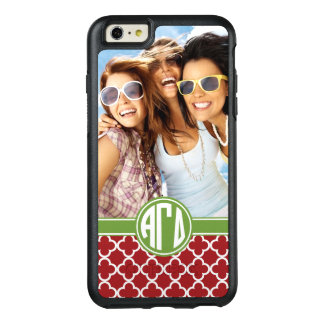 Alpha Gamma Delta | Monogram and Photo OtterBox iPhone 6/6s Plus Case