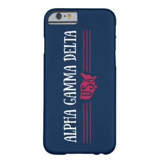 Alpha Gamma Delta USA Barely There iPhone 6 Case