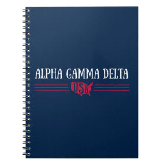 Alpha Gamma Delta USA Notebook