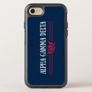 Alpha Gamma Delta USA OtterBox Symmetry iPhone 8/7 Case