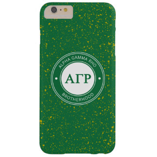 Alpha Gamma Rho | Badge Barely There iPhone 6 Plus Case