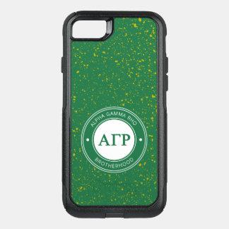 Alpha Gamma Rho | Badge OtterBox Commuter iPhone 8/7 Case