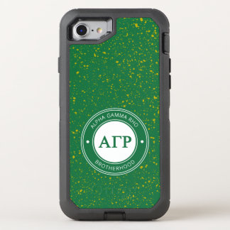 Alpha Gamma Rho | Badge OtterBox Defender iPhone 8/7 Case