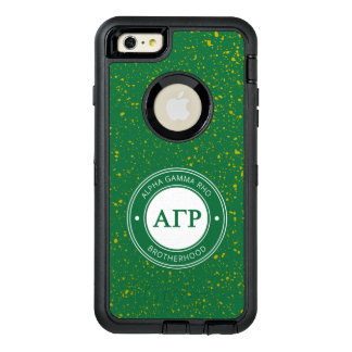 Alpha Gamma Rho | Badge OtterBox Defender iPhone Case