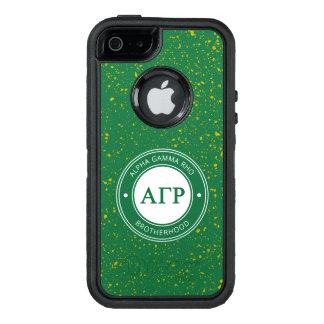 Alpha Gamma Rho | Badge OtterBox Defender iPhone Case