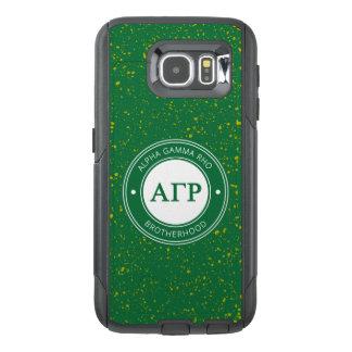 Alpha Gamma Rho | Badge OtterBox Samsung Galaxy S6 Case