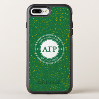 Alpha Gamma Rho | Badge OtterBox Symmetry iPhone 8 Plus/7 Plus Case