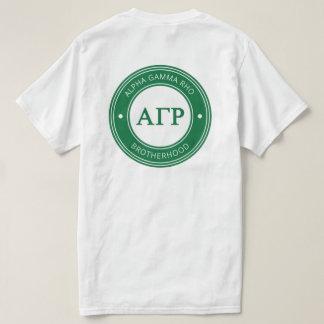 Alpha Gamma Rho   Badge T-Shirt