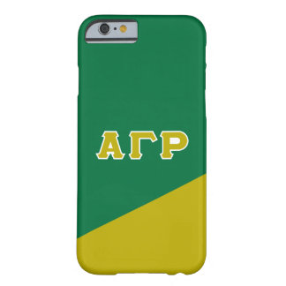Alpha Gamma Rho | Greek Letters Barely There iPhone 6 Case