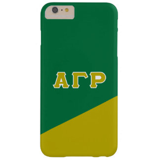 Alpha Gamma Rho | Greek Letters Barely There iPhone 6 Plus Case