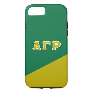 Alpha Gamma Rho | Greek Letters iPhone 8/7 Case