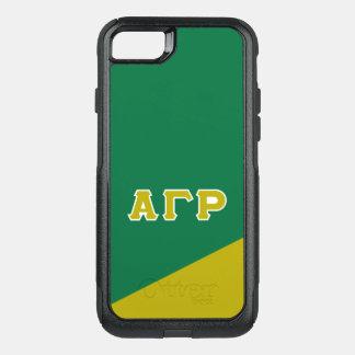 Alpha Gamma Rho | Greek Letters OtterBox Commuter iPhone 8/7 Case